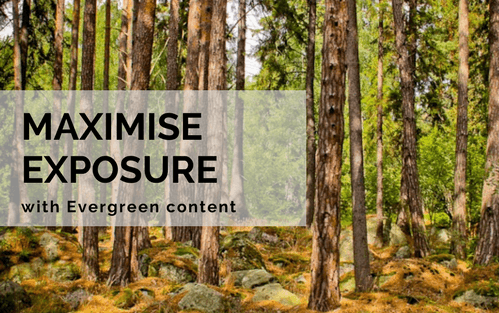 Maximise exposure with evergreen content recycling
