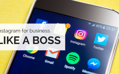 Break the barriers to using instagram for business