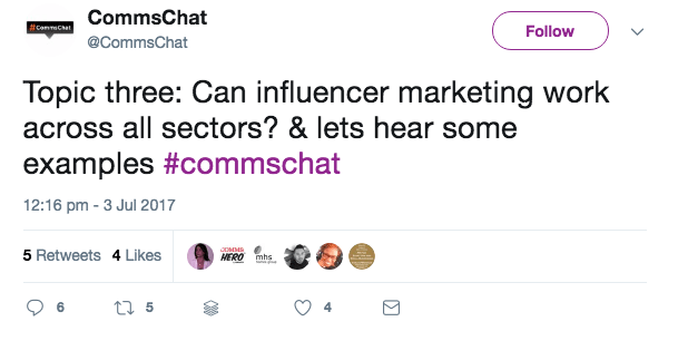 Engage your followers with chats on Twitter
