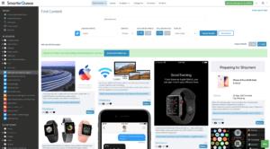 Content curation in SmarterQueue