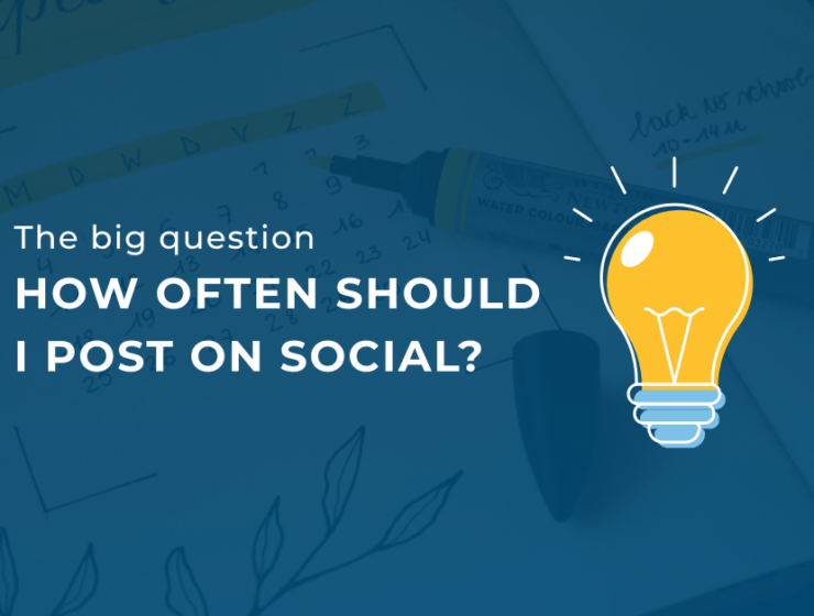 how often should I post on social media