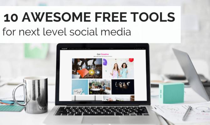 10 free social media tools