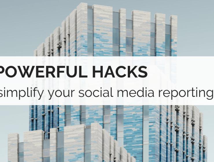 social reporting tips