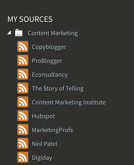 Content curation – Saving sources in SmarterQueue