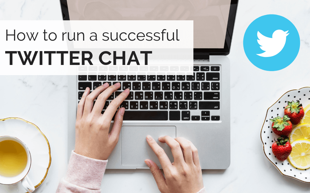 How to run a Twitter chat
