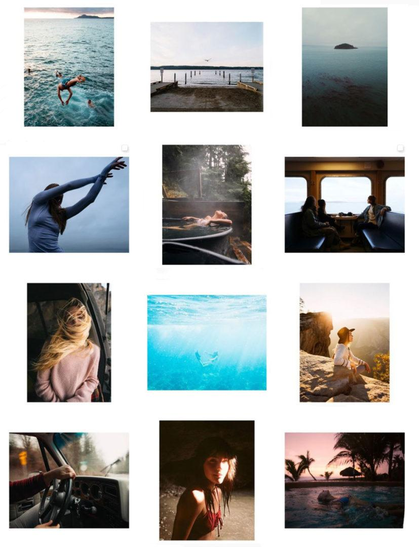 Instagram grid inspiration
