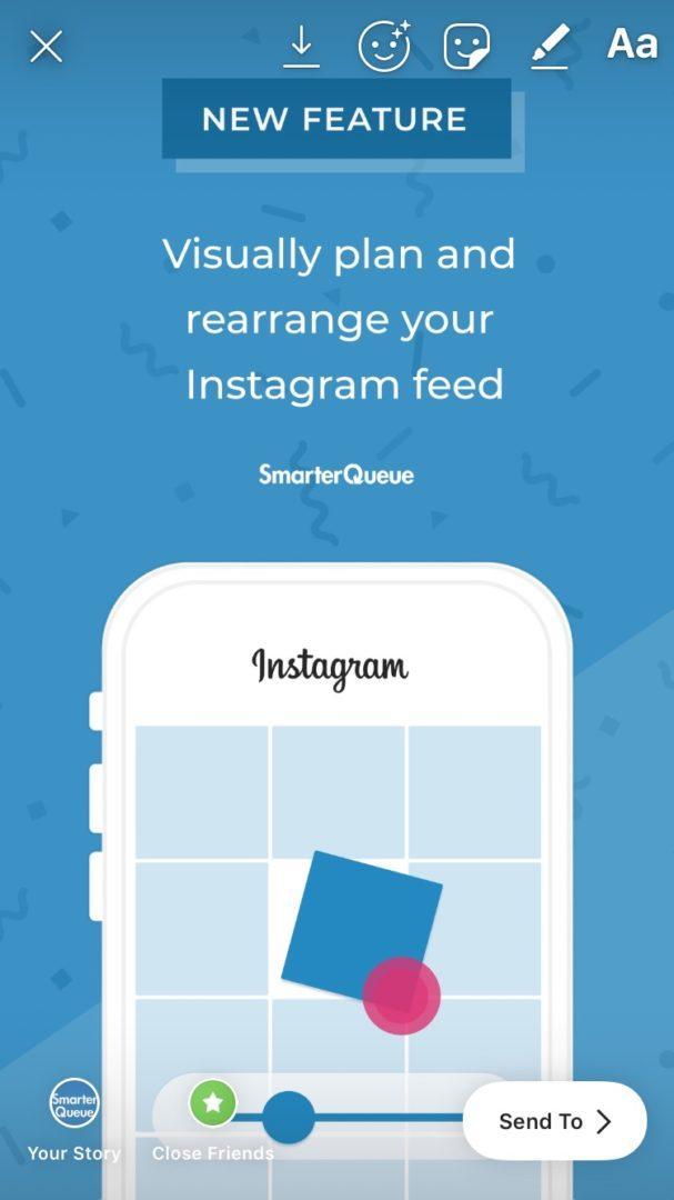 scheduling instagram stories
