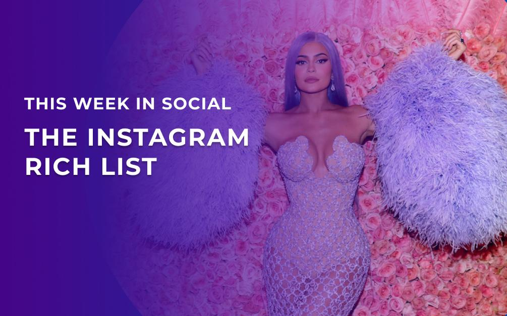 Instagram rich list