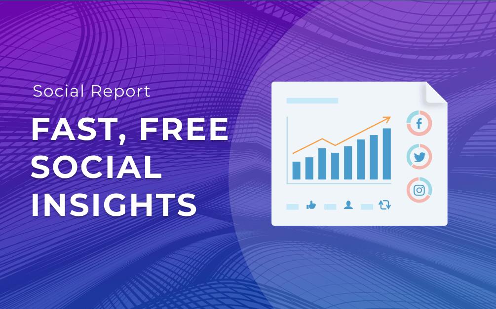 free social analytics tool