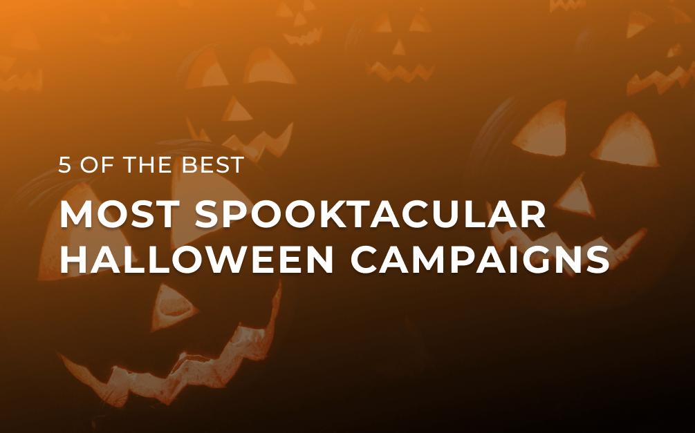 Halloween social campaigns